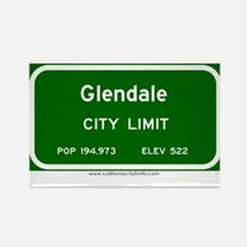 Glendale Rectangle Magnet