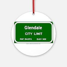 Glendale Ornament (Round)