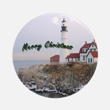 Light House Christmas Ornament