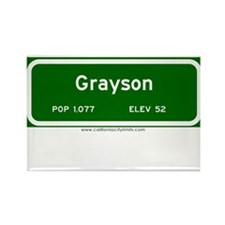 Grayson Rectangle Magnet