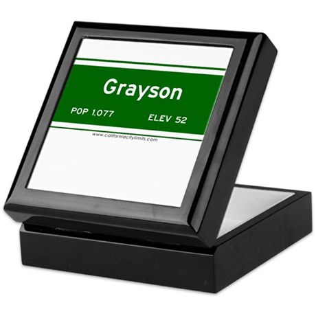 Grayson Keepsake Box