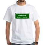 Greenville White T-Shirt