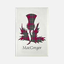 Thistle - MacGregor Rectangle Magnet