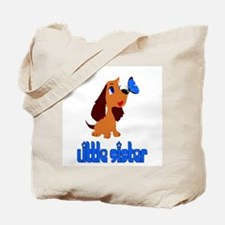 Little Sister Puppy Tote Bag