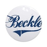"""Beckle"" Ornament (Round)"