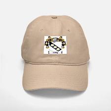 Carey Coat of Arms Baseball Baseball Cap