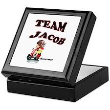 Funny Jacob black Keepsake Box