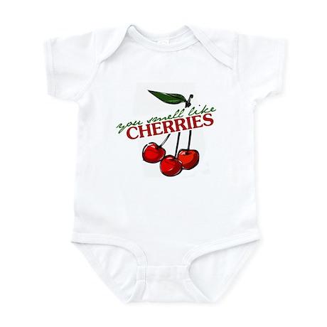 """You Smell Like Cherries"" Infant Bodysuit"