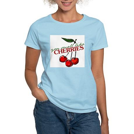"""""""You Smell Like Cherries"""" Women's Light T-Shirt"""