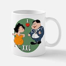 I Love XXLarge Mug