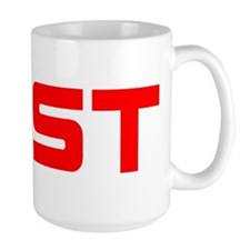 EAST red Mugs