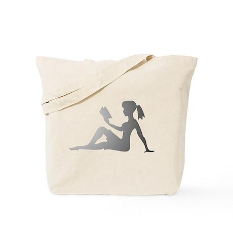 Reading Mudflap Girl Tote Bag