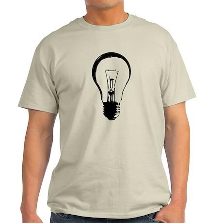 Bright Idea Light Bulb Light T-Shirt