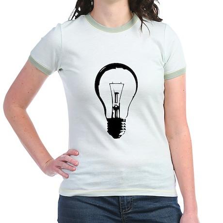 Bright Idea Light Bulb Jr. Ringer T-Shirt