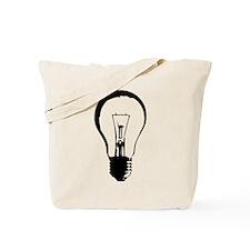 Bright Idea Light Bulb Tote Bag