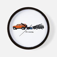 Life is Annoying - SUV Wall Clock
