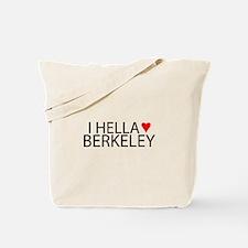 I Hella [Heart] Berkeley Tote Bag