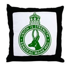 South African Defence Force Throw Pillow