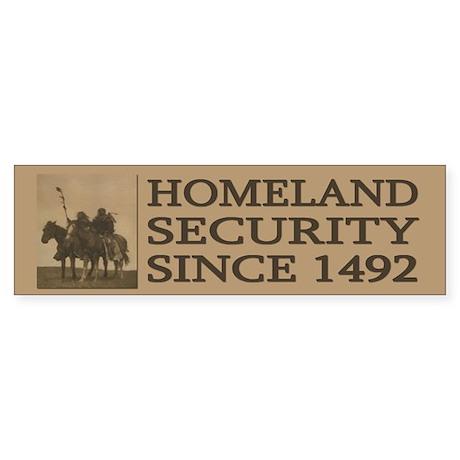 Anti-Patriot Act: Homeland Security (Bumper)
