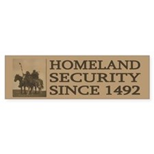 Anti-Patriot Act: Homeland Security (Bumper)