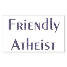 Friendly Atheist Decal