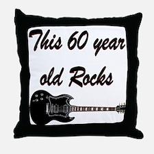 HAPPY 60TH BIRTHDAY Throw Pillow