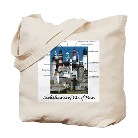 Lighthouses Of Isle Of Man Tote Bag