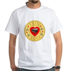 Piano/Music True Love Golden Shirt