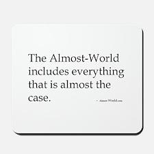 almost-Wittgenstein Mousepad