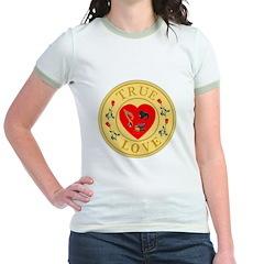 Music True Love Golden Seal Jr. Ringer T-Shirt