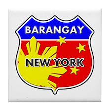 Barangay New York Tile Coaster