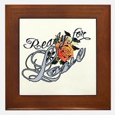 Ready for Love Framed Tile
