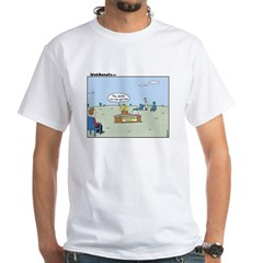 Claustrophobia Clinic White T-Shirt