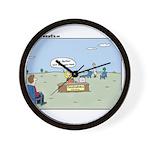 Claustrophobia Clinic Wall Clock