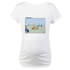 Claustrophobia Clinic Maternity T-Shirt