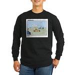 Claustrophobia Clinic Long Sleeve Dark T-Shirt