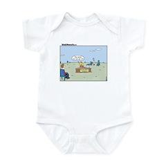 Claustrophobia Clinic Infant Bodysuit