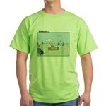 Claustrophobia Clinic Green T-Shirt