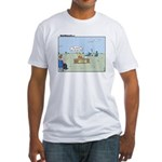 Claustrophobia Clinic Fitted T-Shirt