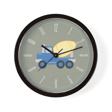 Little Cement Truck Wall Clock