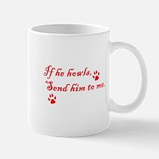 If He Howls Mug