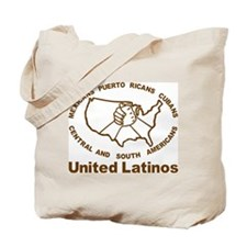United Latinos Tote Bag