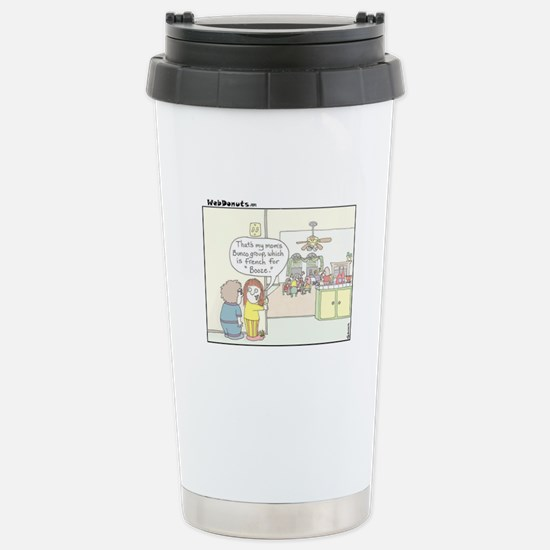 Bunco Stainless Steel Travel Mug