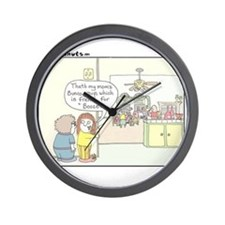 Bunco Wall Clock