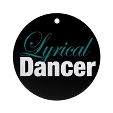 Lyrical Dance Christmas Ornament