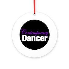 Contemporary Dancer Christmas Ornament