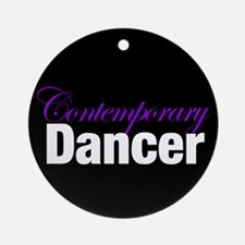 Contemporary Dancer Christmas Ornament