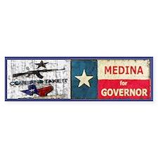 Debra Medina Texas Governor 2 Bumper Bumper Sticker