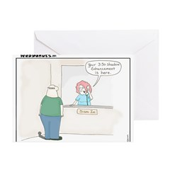 Shadow Enhancement Greeting Cards (Pk of 10)