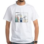 Social Networking White T-Shirt